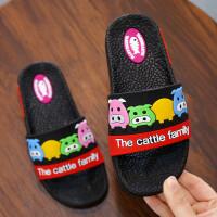 夏季儿童拖鞋男女童卡通可爱软底凉拖鞋宝宝居家浴室休闲拖鞋