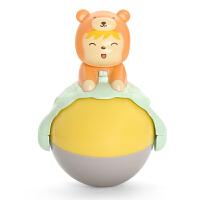 儿童玩具 卡通小熊不倒翁音乐玩具宝宝儿童早教益智礼盒装生日礼物 小熊