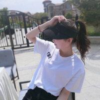 帽子女韩版百搭时尚潮防晒太阳帽户外运动鸭舌空顶遮阳帽