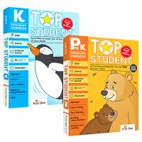 Evan-Moor Top Student Grade PreK-K 美国加州教辅优等生系列英文原版进口练习册 英语数