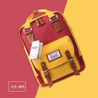 双肩包女苹果air联想华硕戴尔小米13.3/14/.6寸笔记本电脑背包