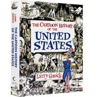 漫画美国历史入门 英文原版 Cartoon History of the United States 英文版 正版进口