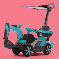 儿童电动挖掘机玩具遥控可坐可骑挖挖土机勾机大号工程车男孩