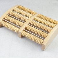 创意送父母木家用滚轮式腿部木质按摩穴位搓排木制脚底按摩器足底按摩器