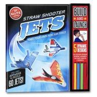 【现货】英文原版 儿童趣味手工玩具书 DIY 吹的纸飞机 益智图书 STEAM体系 8岁以上 Straw Shoote
