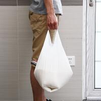 【年货节】欧润哲 300只装新料版白色大号8升垃圾袋 背心袋购物袋胶袋套装