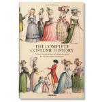 大开本TASCHEN原版Racinet: Complete Costume History XL古服装艺术设计画册