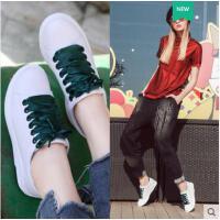莱卡金顿夏季新款韩版日常休闲百搭女性平板鞋系带低帮鞋潮流上班鞋LHLKQ6401