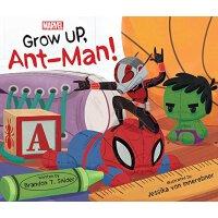现货 蚁人 变大吧 英文原版 Grow Up, Ant-Man! 精装 幼儿绘本读物