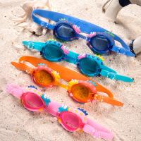 儿童游泳眼镜 卡通造型蛙镜 可调节