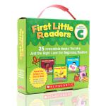 英文原版绘本 First Little Readers Guided Reading Level C C级25册 学乐