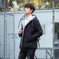 反季加厚男士羽绒服男短款清仓版修身正品青年冬季外套潮