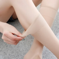 春夏中筒丝袜隐形长筒女中长丝袜防勾丝半筒半截及膝女小腿袜