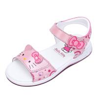 HELLO KITTY童鞋夏季新款女孩公主鞋儿童沙滩凉鞋