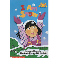 I Am Snow 我是雪 廖彩杏书单英文原版绘本 Scholastic Reader L1 学乐分级科普阅读绘本图画