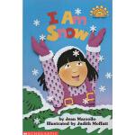 廖彩杏书单英文原版绘本 I Am Snow 我是雪 Scholastic Reader L1 学乐分级科普阅读绘本图画