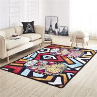 地垫客厅卧室床边沙发茶几毯玄关儿童房防水防滑毛毯满铺定制地毯