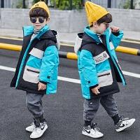 童装男童羽绒中大童冬装男孩棉衣儿童棉袄外套