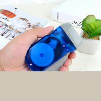 LED手动自发电手电筒 手压式强光手电迷你自充电小手电筒3只装