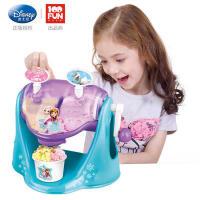 迪士尼冰淇淋机儿童雪糕机玩具冰果机冰激凌冰沙机二合一手机DIY