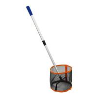 乒乓球捡球器轻便伸缩式拾球器收球器多球训练自动捡球筐捡球网
