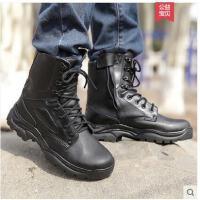户外高帮特种兵战术靴男 丁靴夏 耐磨防水军迷作战靴沙漠靴马