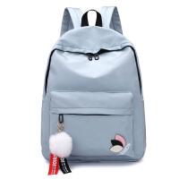 中学生书包初中女生高中生双肩包女学院风大容量休闲超轻时尚旅行背包定制