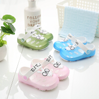 儿童凉拖鞋夏季男女童1-3岁防滑婴幼儿可爱小公主洞洞宝宝沙滩鞋