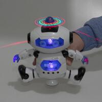 电动跳舞机器人带灯光音乐劲风炫舞者智能儿童玩具礼物