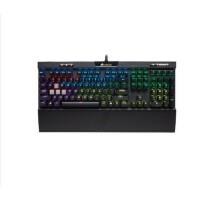 美商海盗船K70 RGB MK.2机械键盘樱桃红青茶银轴背光键盘