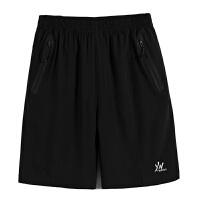 短裤男士休闲裤五分裤加肥加大码户外运动防水夏季宽松沙滩裤 XX