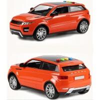 会讲故事的路虎车大号惯性越野车儿童小汽车赛车模型玩具 橙色