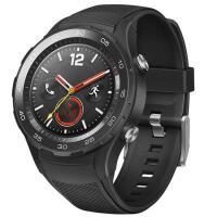 华为 WATCH2 二代智能运动手表 蓝牙通话 GPS心率NFC支付 碳晶黑 4G版(可插卡)