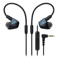 铁三角(Audio-Technica)ATH-LS400iS 入耳式耳机 玄青色