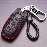 钥匙包男腰挂套扣大陆车用钥匙钥匙包汽车林肯卡包男女韩版英皇红色实用休闲