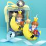 创意生日蜡烛月亮王子小蜡烛创意蛋糕装饰宝宝周岁派对用品男孩款