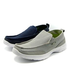 shoebox鞋柜春秋新款乐福鞋帆布鞋厚底防滑运动鞋男鞋