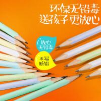 英雄铅笔桶装小学生儿童HB2B三角杆无毒学习文具用品铅笔50支