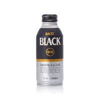 【网易考拉】【有效期至2018-09-12】UCC 悠诗诗 BLACK无糖黑咖啡饮料 375克/瓶