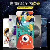 华硕ZenFone5 Lite手机壳华硕5Q防摔硅胶软套ZC600KL卡通全包潮壳