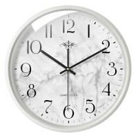 现代简约钟表挂钟客厅大气石英钟创意家用静音圆形电子表时钟挂表