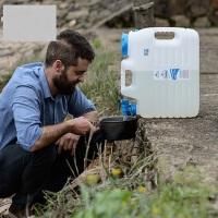食品级PE加厚升级款家用饮水矿泉水桶 户外露营车载塑料储水桶野营纯净水桶