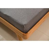 全棉天竺棉床单针织棉床笠单件1.5m纯棉席梦思床垫保护套床罩1.8m 230*250cm 床单单件