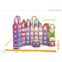 智邦宝贝磁力棒玩具 儿童玩具5岁以上 智力磁性积木410块