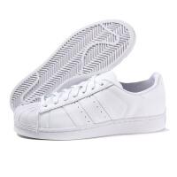 adidas阿迪达斯三叶草男子板鞋SUPERSTAR贝壳头休闲鞋B27136
