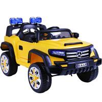 儿童电动车可坐越野童车双开车门四轮玩具双驱汽车带遥控