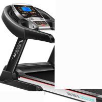 智能跑步机家用款多功能超静音电动折叠健身房专用器材 1_(黑色)单功能 蓝屏智能版 云端护膝减震