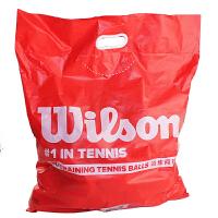 Wilson/威尔胜Wilson WRT136000袋装训练网球 无压练习球(60个/袋)