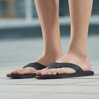 adidas阿迪达斯男子拖鞋2018新款人字拖休闲运动鞋BB0503