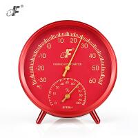 德福温度计室内 家用温度湿度计婴儿房温湿度计工业仓库机房